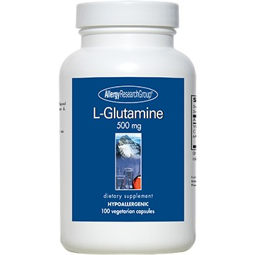 Glutamine 500 mg 100 caps      Allergy Research Group GLU13