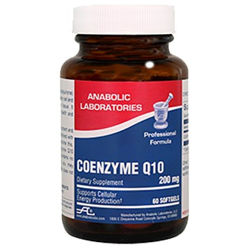 CoEnzyme Q10 200 mg 60 softgels Anabolic Laboratories A65026