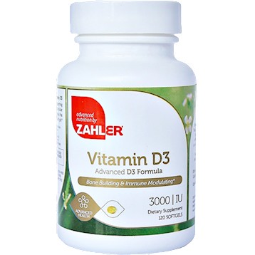 Vitamin D3 3000 IU 120  softgels