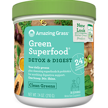 Detox & Digest Green SF 30 servings Amazing Grass A04737
