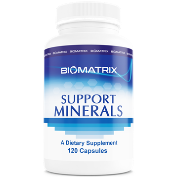 Support Minerals 120 caps
