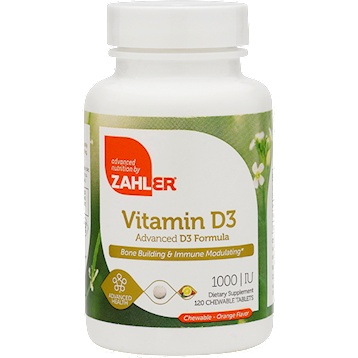 Vitamin D3 Chewable 1000 IU 120 tabs