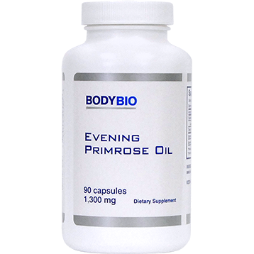 Evening Primrose Oil 1300 mg 90 caps BodyBio EPO64