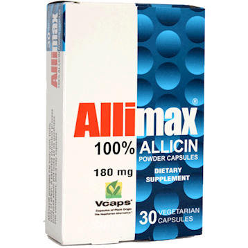 Allimax 180 mg 30 vegcaps