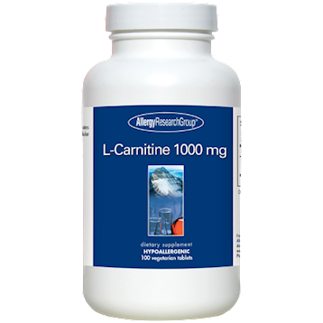 L-Carnitine 1000 mg 100 vegtabs
