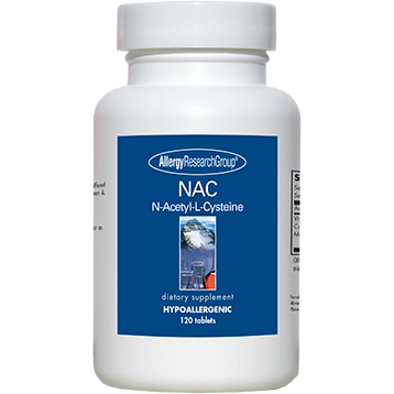 NAC N-Acetyl-L-Cysteine 500 mg 120 tabs Allergy Research Group N-ACE