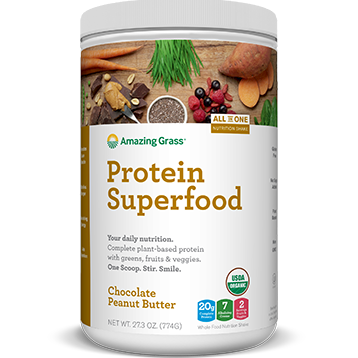 Protein Superfood Choc PB 18 Servings Amazing Grass A05758