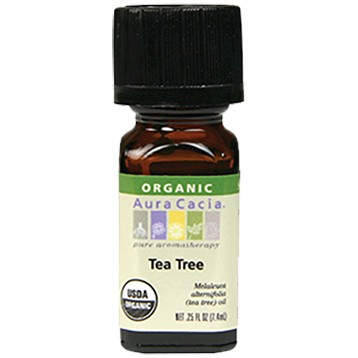 Tea Tree Organic Essential Oil .25 oz